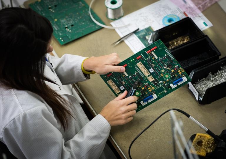 BSE Le Site Industriel, les hommes et les femmes